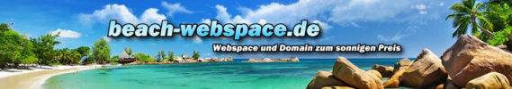 beach-webspace.de - Domain + Webspace zum sonnigen Preis!